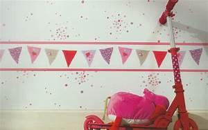 Kinderzimmer Bordüre Mädchen : girls only kinderzimmer bord re fahnen rot lila gln 6196 5381 euro pro m ebay ~ Sanjose-hotels-ca.com Haus und Dekorationen