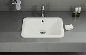 Vasque à Encastrer : vasques encastrer par dessus fiche produit ~ Edinachiropracticcenter.com Idées de Décoration