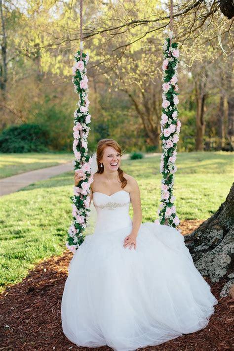 Flower Swing Spring Wedding Inspiration Popsugar Love
