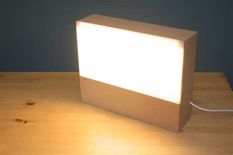 Light box lamp - Spreading The Light | Warisan Lighting