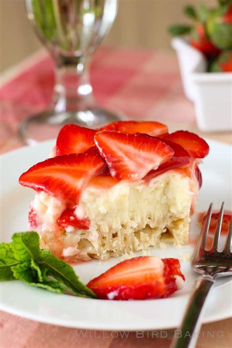 Strawberry Coconut Cream Pie Bars Willow Bird Baking