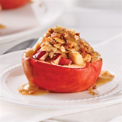 recette dessert au pomme pommes farcies au four desserts recettes 5 15 recettes express 5 15 pratico pratique