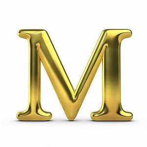 letter m pictures images and stock photos istock With gold letter m