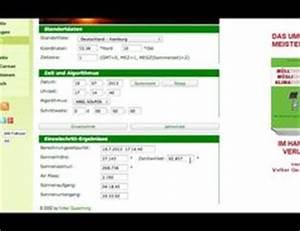 Sonnenstand Berechnen Online : video sonnenstand berechnen online so geht 39 s ~ Themetempest.com Abrechnung