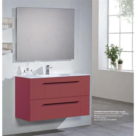alinéa meuble meuble sous vasque 224 suspendre alina robinet co