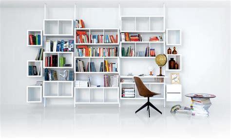 fauteuil de bureau en bois rangement terre design système blanc bibliothèques