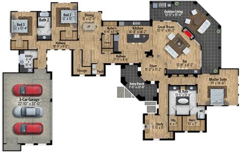 impressive exclusive tuscan house plan  game room