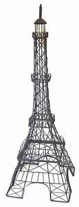 black metal eiffel tower decor traditional artwork With kitchen cabinets lowes with metal eiffel tower wall art