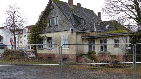 Das Alte Haus Am Werler Bahnhof Wird Abgerissen Und Weicht