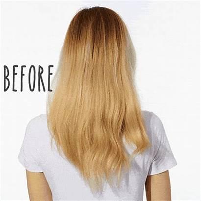Shampoo Purple Biolage Colorlast Hair Blonde Before