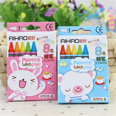 free shipping hot christmas gift for children 8 colors wax