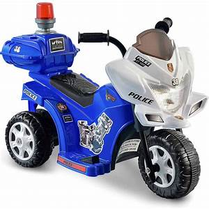Kid Motorz Lil U0026 39  Patrol 6-volt Battery-powered Ride-on Motorcycle