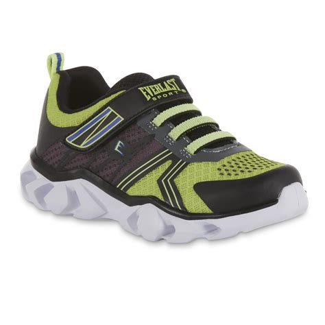 light up tennis shoes everlast 174 sport boys neolighted light up black athletic shoe