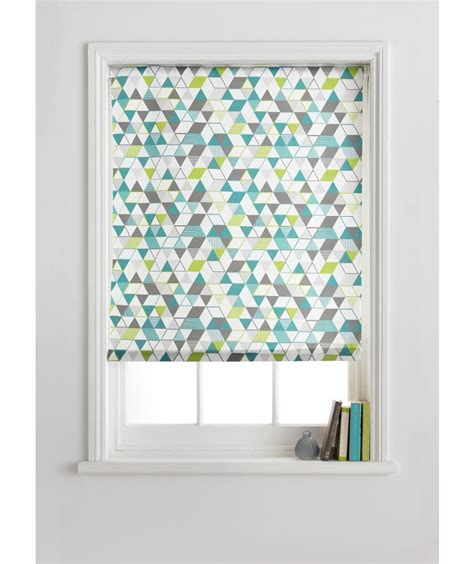Buy Blinds by Buy Colourmatch Roller Blind 6ft Geometric At Argos Co