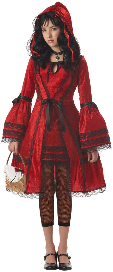 red riding hood tween costume partybellcom