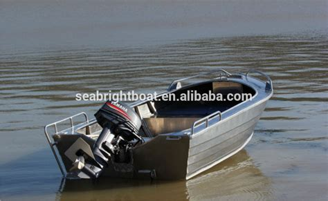 Aluminum Boats Canada by Wholesale Price All Welded V Hull 16 Foot Aluminum Boat