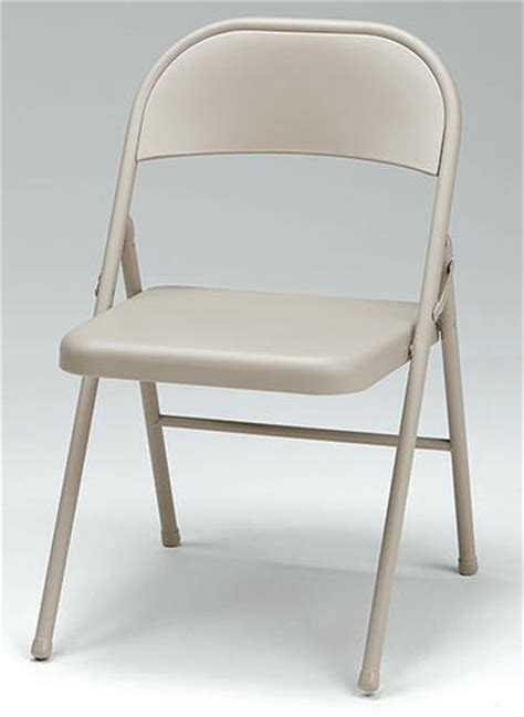 16 quot steel folding chair