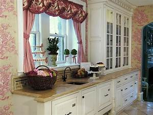 shabby chic kitchen photos hgtv With kitchen cabinet trends 2018 combined with pink floral wall art