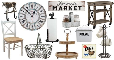 buy kitchen accessories the best farmhouse kitchen accessories to buy in 2017 1886