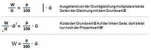 1 Prozent Regelung Berechnen : grundformel der prozentrechnung prozentrechnen kapiert ~ Themetempest.com Abrechnung