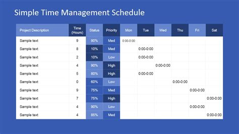 project time management powerpoint template slidemodel