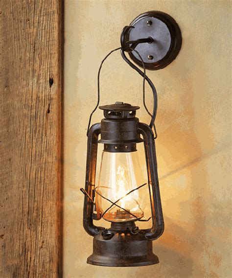 pottery barn wall rustic sconces lodge wall ls