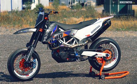 Ktm Smc 690 Rr  Dario Dee Custom Build Derestricted
