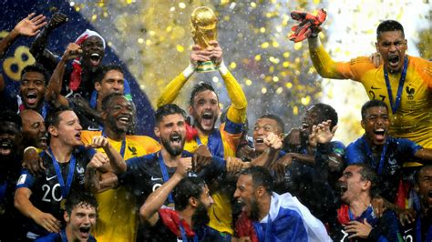 France Win World Cup Final With Victory Against