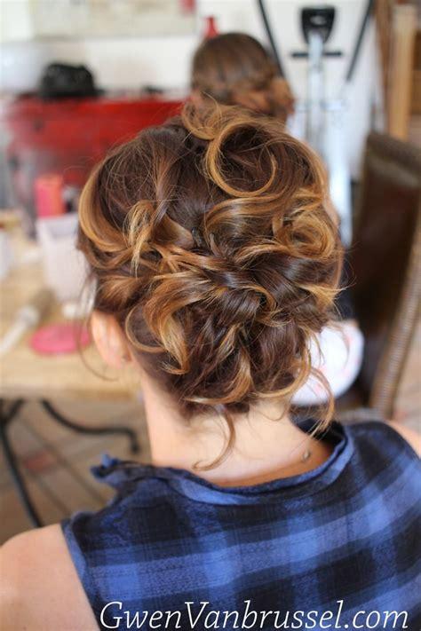 chignon sur cheveux courts coiffure invit 233 e r 233 alis 233 e par gwen vanbrussel coiffures