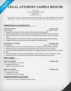 resume format legal resume format samples With attorney resume template