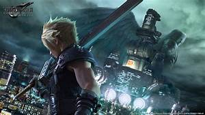 Final Fantasy VII Remake Gets New Visual Key Artwork