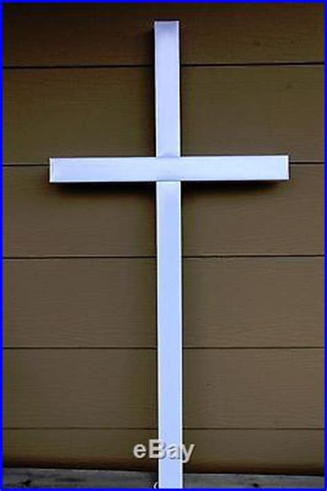 lighted cross decor large  outdoor christmas lights