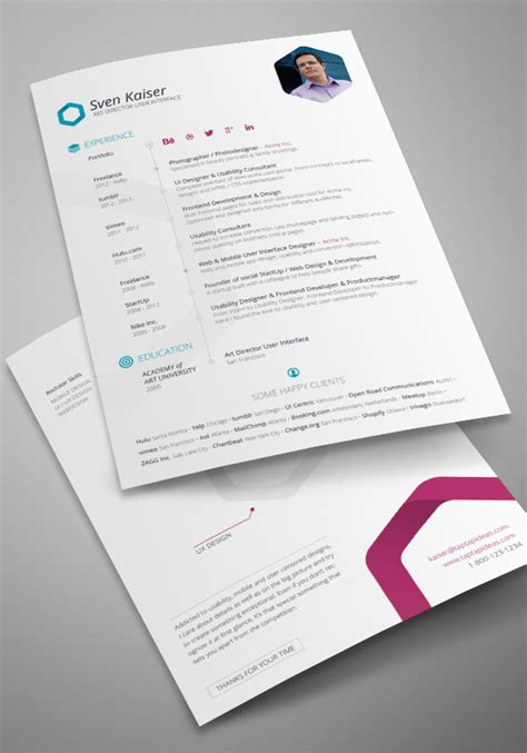 25 free resume cv templates to help you get the