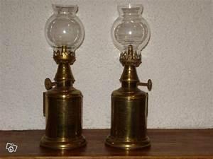 Lampe à Pétrole Ancienne Le Bon Coin : anciennes lampes p trole en cuivre collection ~ Melissatoandfro.com Idées de Décoration