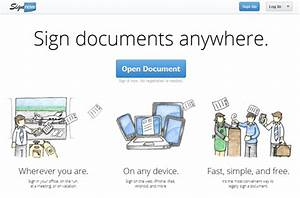 2 free services to electronically sign documents on any With electronically sign documents free