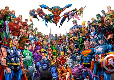 writers express interest   justice league  avengers