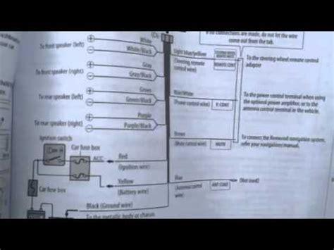 Kenwood Car Stereo Wiring Diagram Kdc Btu Youtube