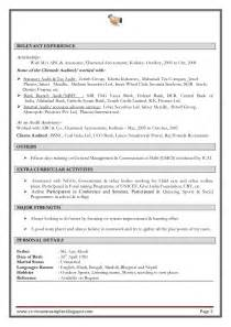 cpa but no experience resume excellent work experience professional chartered accountant resume sa