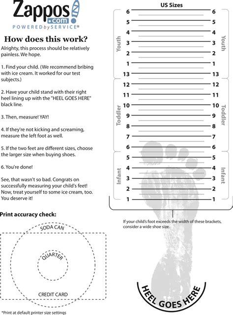 images  toddler foot measurement template leseriailcom