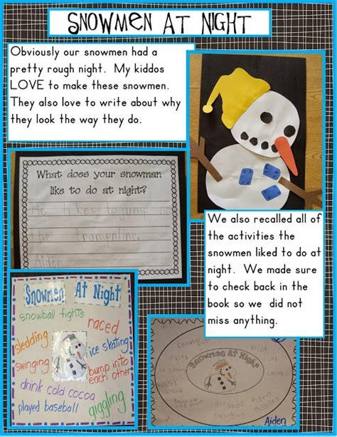 golden kindergarten snowmen at 462 | Jan. 15 blog