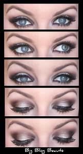 Maquillage Yeux Tuto : maquillage yeux bleus tuto ~ Nature-et-papiers.com Idées de Décoration