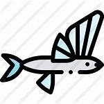 Flying Fish Icon Premium Svg Icons