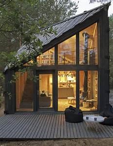 Une Petite Maison Au Design Bois De 35m2 Pour Passer Ses