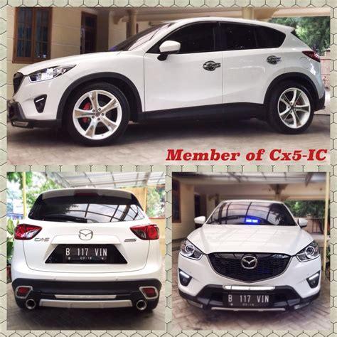 Mazda Cx 5 Modification by White Mazda Cx 5 Simple Modification Mazda Cars And