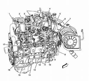 2006 Chevy Duramax Engine Component Diagram