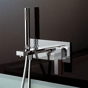 Armatur Aus Der Wand : unterputz badewannenmischer ar 38 mit handbrause sun design angeletti ruzza ~ Orissabook.com Haus und Dekorationen