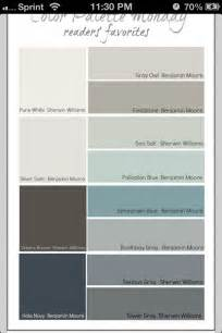 Blue and Grey Bedroom Paint Color Palette