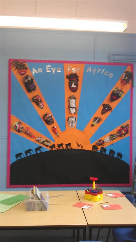africa display classroom display africa tribe tribal mask