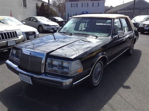 how to sell used cars 1985 lincoln continental navigation system buy used 1985 lincoln continental valentino 5 0l no reserve in hyannis massachusetts united states
