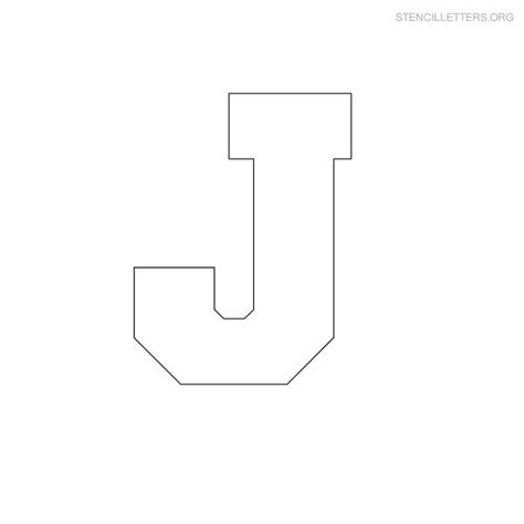 block letter i block letter stencils stencil letters j printable free j 43788